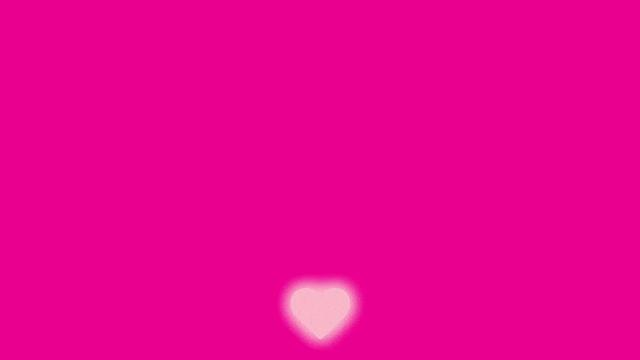 heart animating up-down
