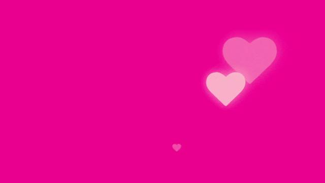 four hearts with up-down and left-right animation