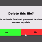 Flapping Dialog Box